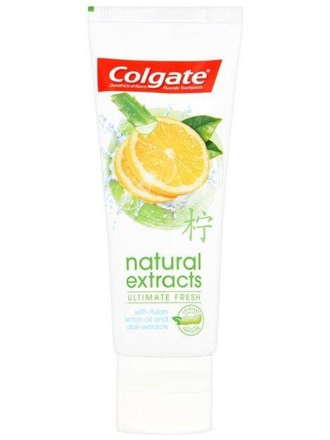 Colgate Pasta do zębów Natural Extracts Ultimate Fresh odświeżająca 75 ml                              zdj.                              2
