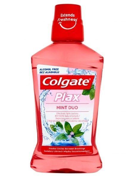 Colgate Płyn do płukania ust Plax Mint Duo 500ml