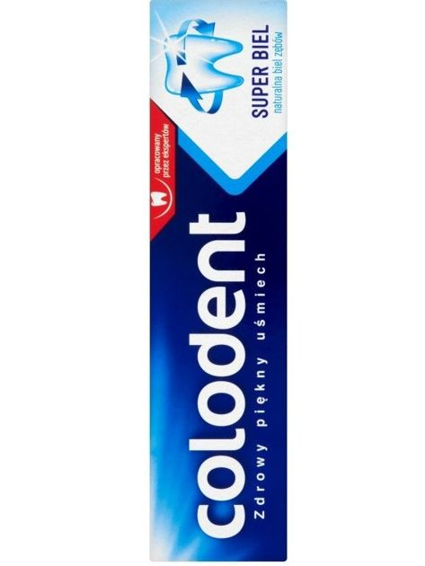 Colodent Pasta do zębów Super Biel 100 ml                              zdj.                              1