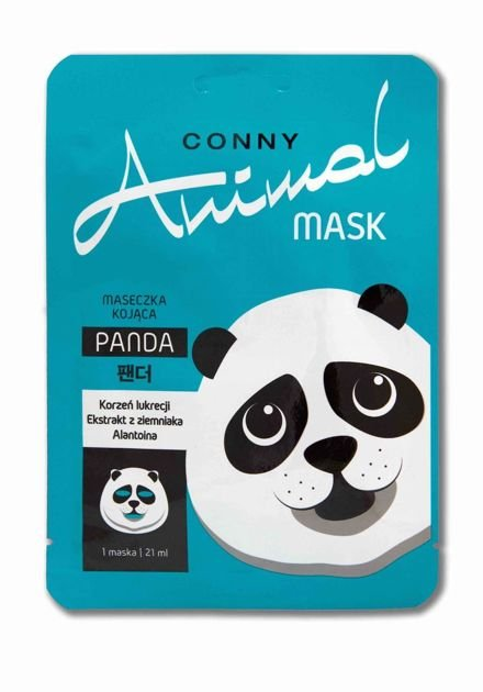 Conny Animal KOREAŃSKA Kojąca Maseczka Panda Conny 21 ml                              zdj.                              1