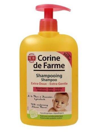 Corine de Farme BeBe Szampon extra delikatny z wyciągiem z kwiatu migdałowca  500 ml