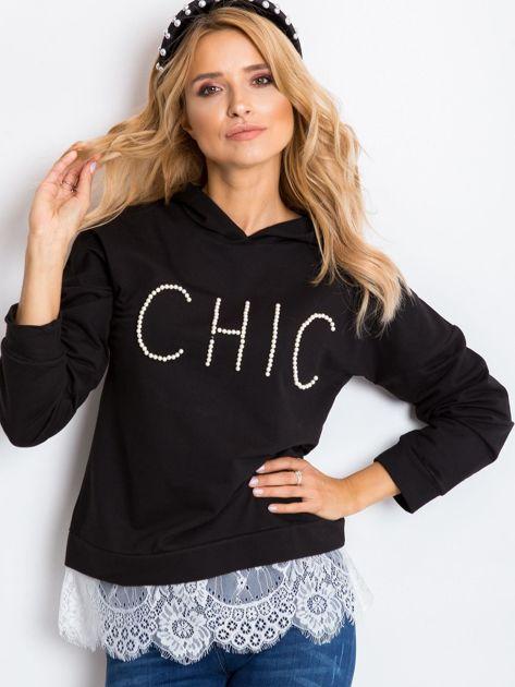 Czarna bluza Chic                              zdj.                              5