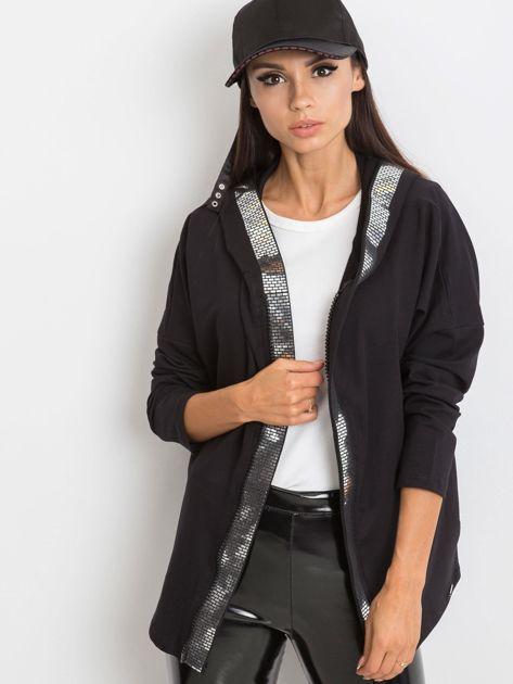Czarna bluza Gianna                              zdj.                              1