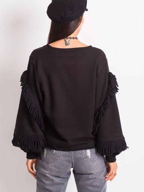 Czarna bluza Silvia                              zdj.                              2