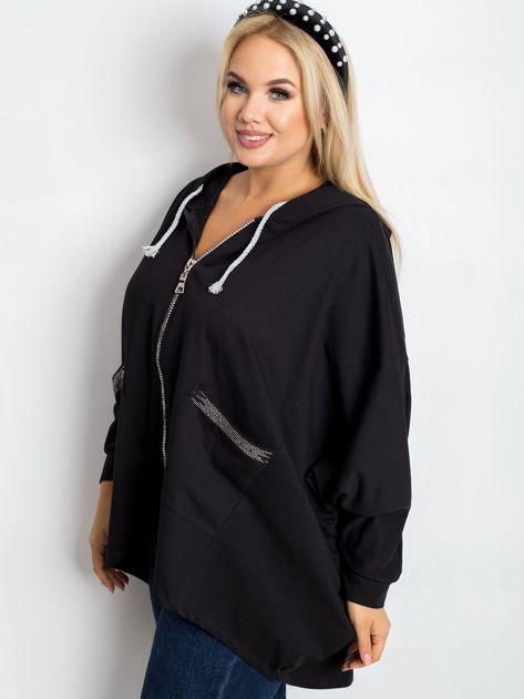 Czarna bluza plus size New                              zdj.                              3