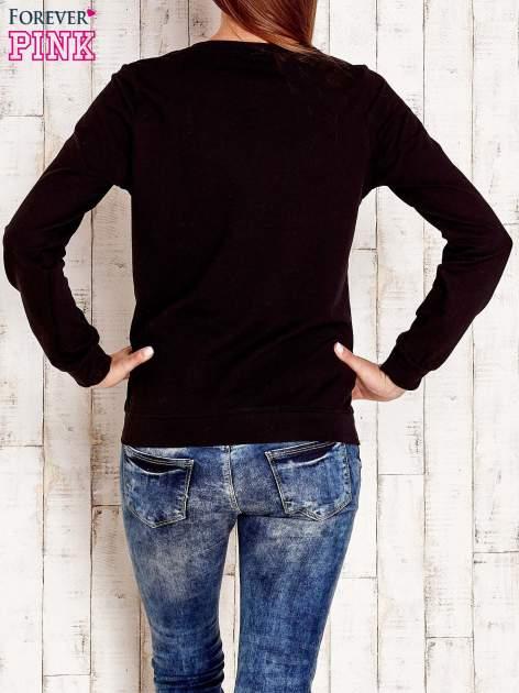 Czarna bluza z napisem CITY GIRL                                  zdj.                                  3