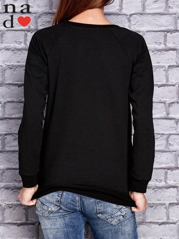 Czarna bluza z naszywkami                                  zdj.                                  4