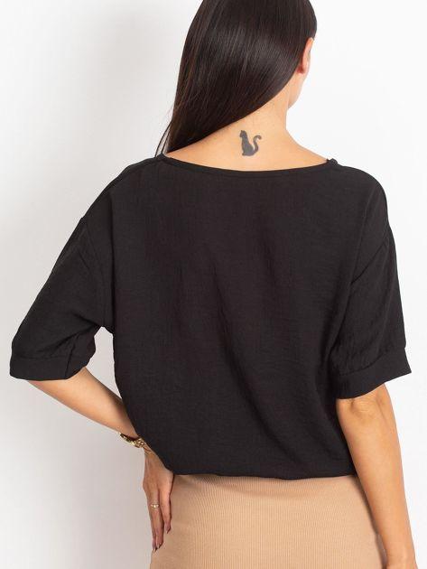 Czarna bluzka Blaze                              zdj.                              2
