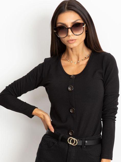 Czarna bluzka Eliane                              zdj.                              5
