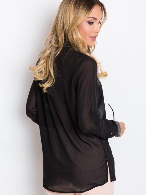 Czarna bluzka Velvet                              zdj.                              2