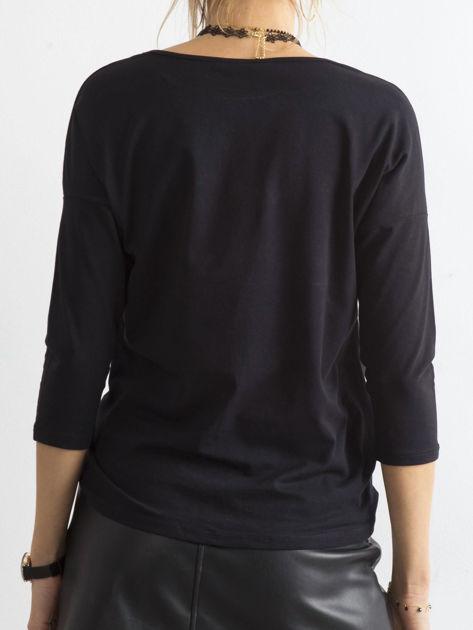 Czarna bluzka April                              zdj.                              2