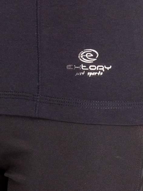 Czarna bluzka sportowa basic PLUS SIZE                                  zdj.                                  5