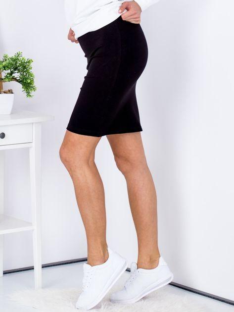 Czarna dopasowana spódnica                               zdj.                              5