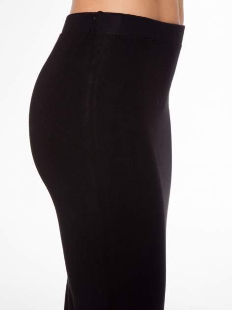 Czarna elegancka spódnica ołówkowa do kolan                                  zdj.                                  11