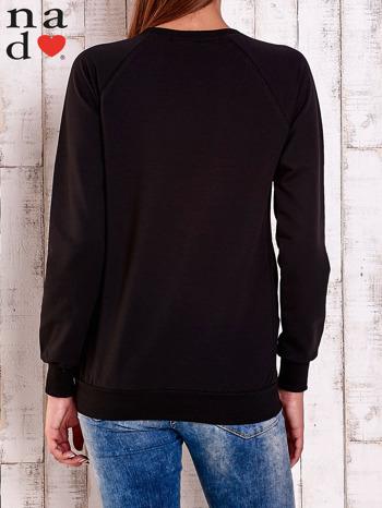 Czarna gładka bluza                                  zdj.                                  4