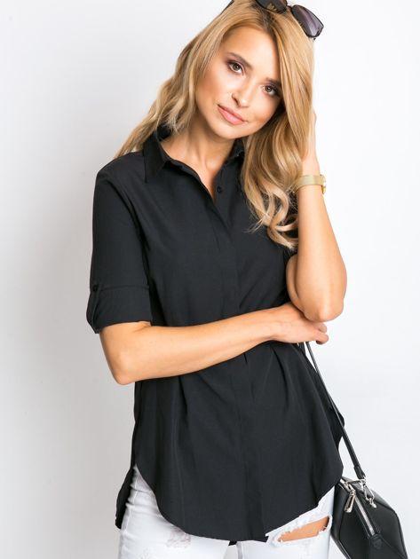 Czarna koszula Sharon                              zdj.                              7