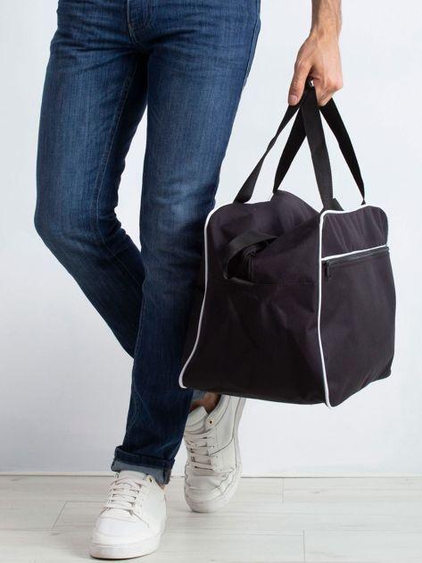 Czarna męska torba podróżna                              zdj.                              3