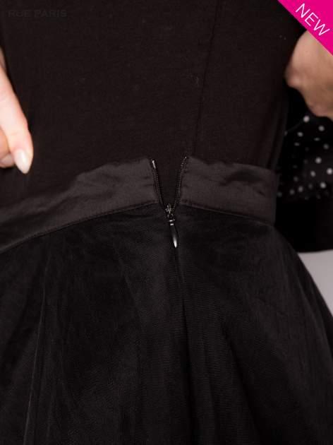 Czarna rozkloszowana tiulowa spódnica                                  zdj.                                  6