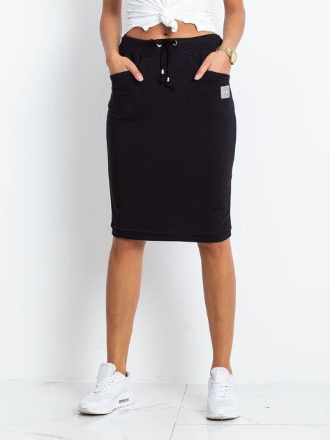 Czarna spódnica Features                              zdj.                              1
