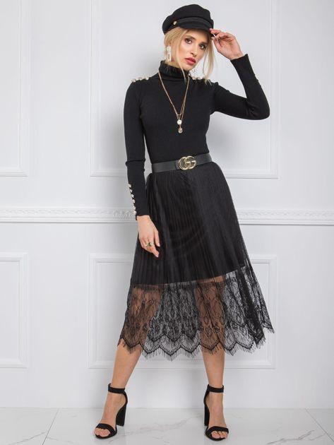 Czarna spódnica Morine RUE PARIS