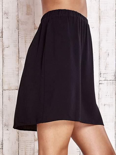 Czarna spódnica na gumkę                                  zdj.                                  5