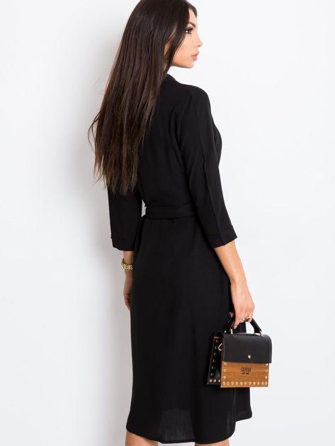 Czarna sukienka Amber                              zdj.                              2