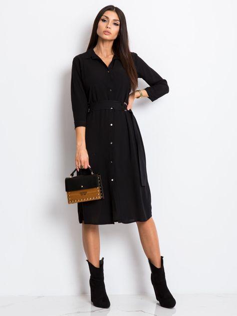 Czarna sukienka Amber                              zdj.                              4