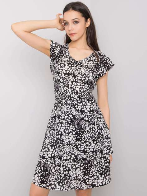 Czarna sukienka Athena SUBLEVEL