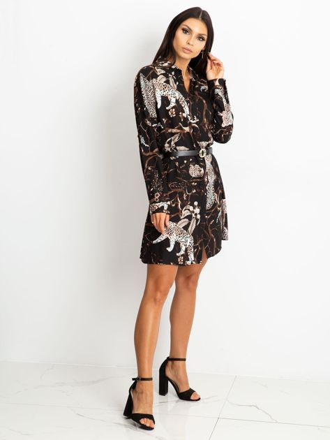 Czarna sukienka Beverly                              zdj.                              4