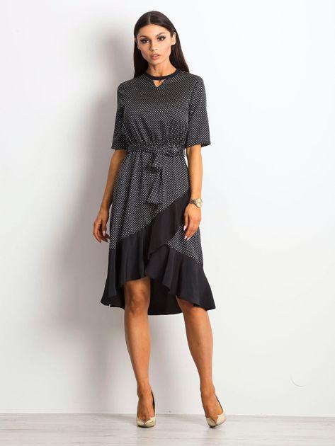 Czarna sukienka Breezy                               zdj.                              4