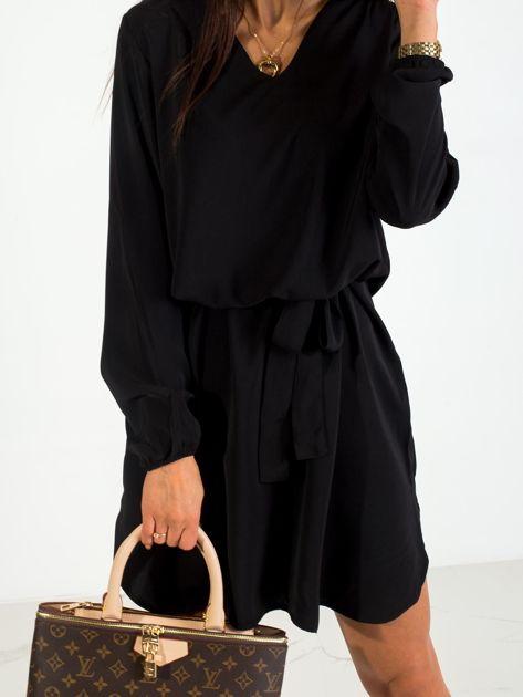 Czarna sukienka Castle                              zdj.                              6