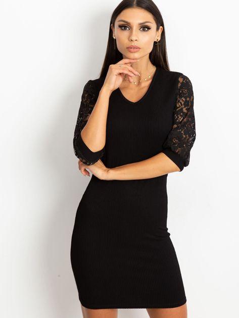 Czarna sukienka Cherish                              zdj.                              1