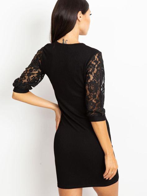 Czarna sukienka Cherish                              zdj.                              2