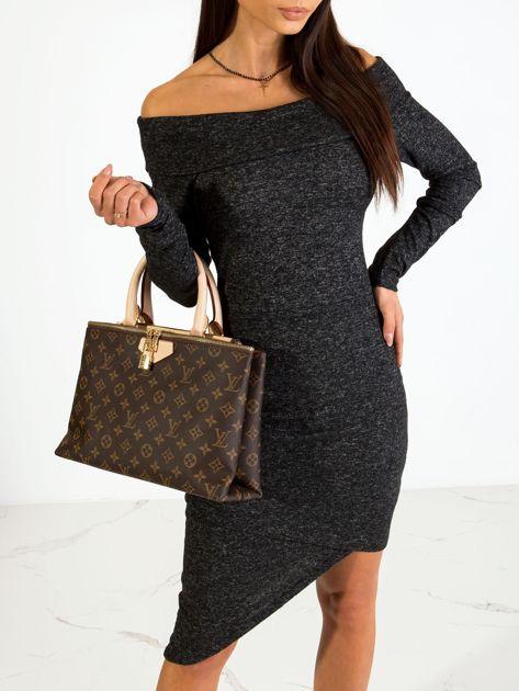 Czarna sukienka Classy                              zdj.                              6