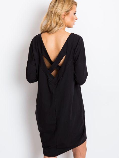 Czarna sukienka Daisy                              zdj.                              2