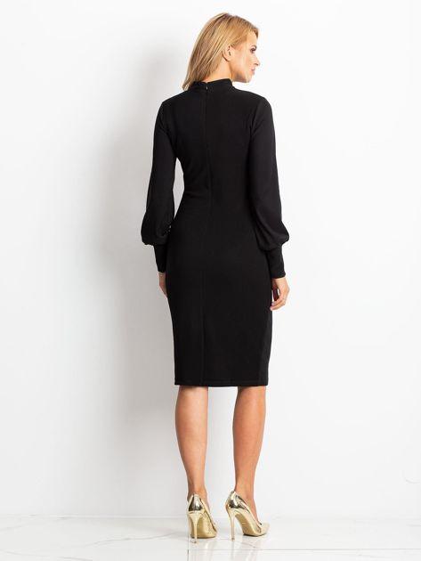 Czarna sukienka Goddies                              zdj.                              2