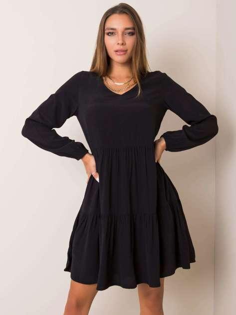Czarna sukienka Kassie SUBLEVEL
