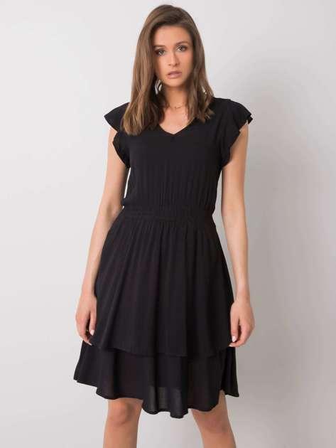 Czarna sukienka Melinda SUBLEVEL
