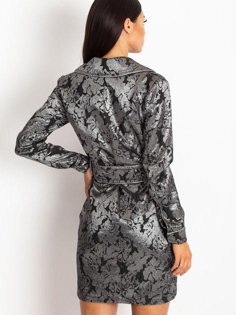 Czarna sukienka Moderne                              zdj.                              2