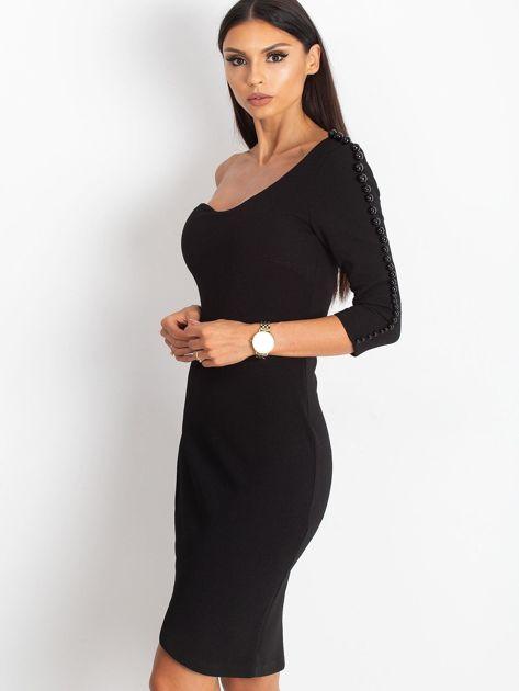 Czarna sukienka Night                              zdj.                              6