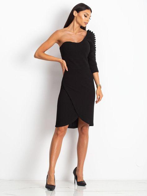 Czarna sukienka Night                              zdj.                              4
