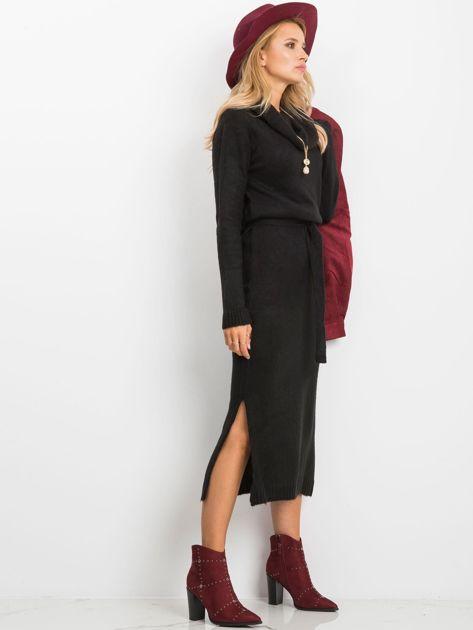 Czarna sukienka Peace                              zdj.                              3