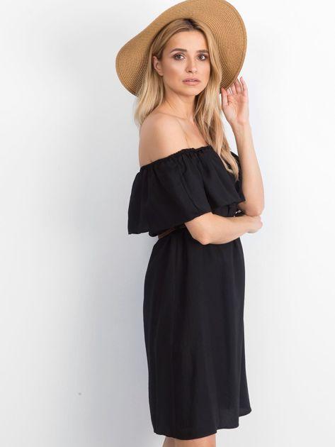 Czarna sukienka Reputedly                              zdj.                              3