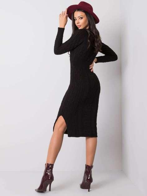 Czarna sukienka Sobelle RUE PARIS