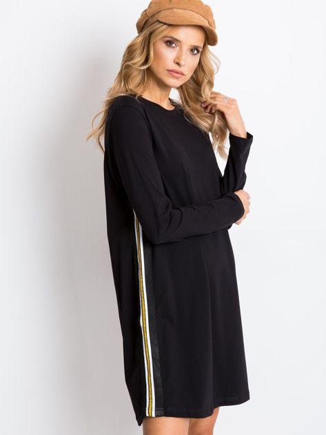 Czarna sukienka Temple                              zdj.                              3
