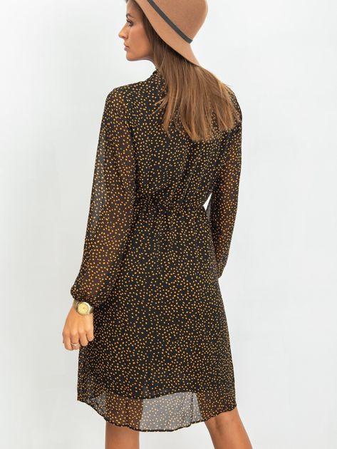 Czarna sukienka Vanessa                              zdj.                              2
