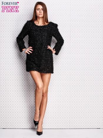 Czarna sukienka fluffy                                   zdj.                                  2