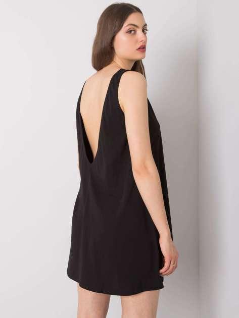 Czarna sukienka na co dzień Susan RUE PARIS