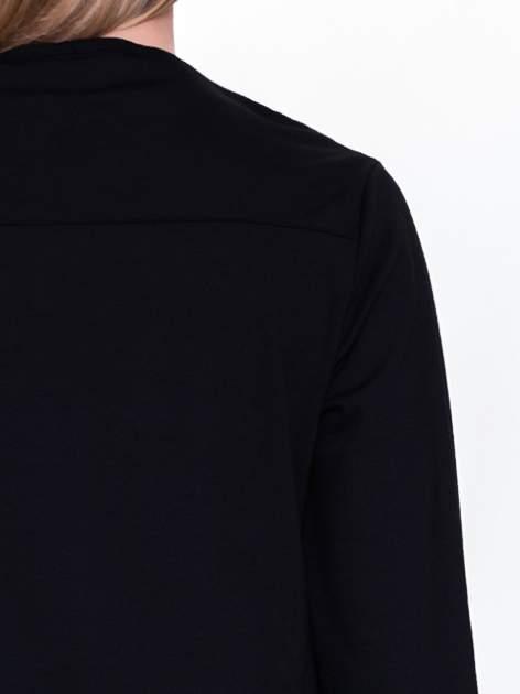 Czarna sukienka retro z półgolfem                                  zdj.                                  6