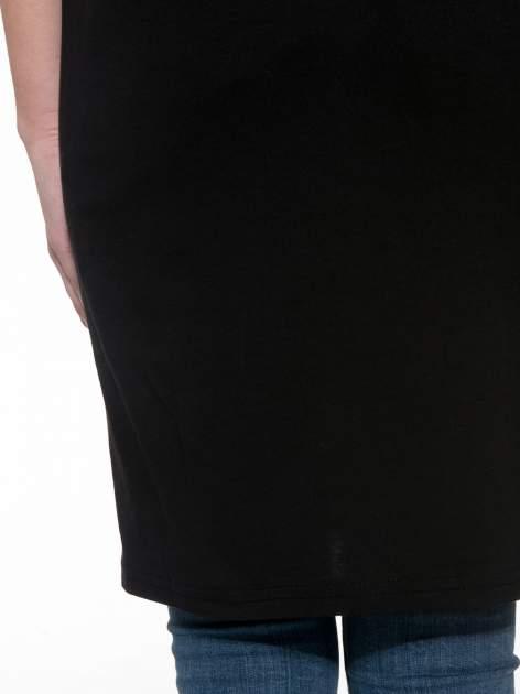 Czarna sukienka z numerem w stylu baseball dress                                  zdj.                                  9